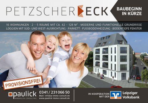 Bauschild Petzscher-Eck-